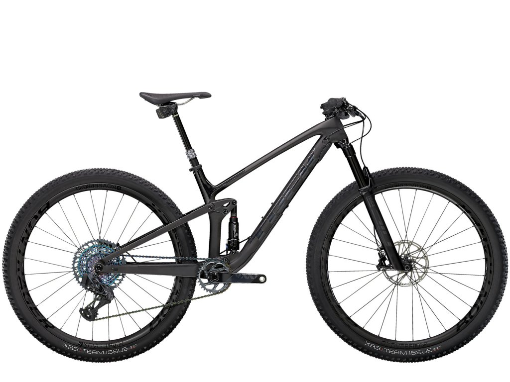 2021 TREK TOP FUEL 9.9 XX1 AXS MATTE RAW CARBON/VOODOO TREK BLACK