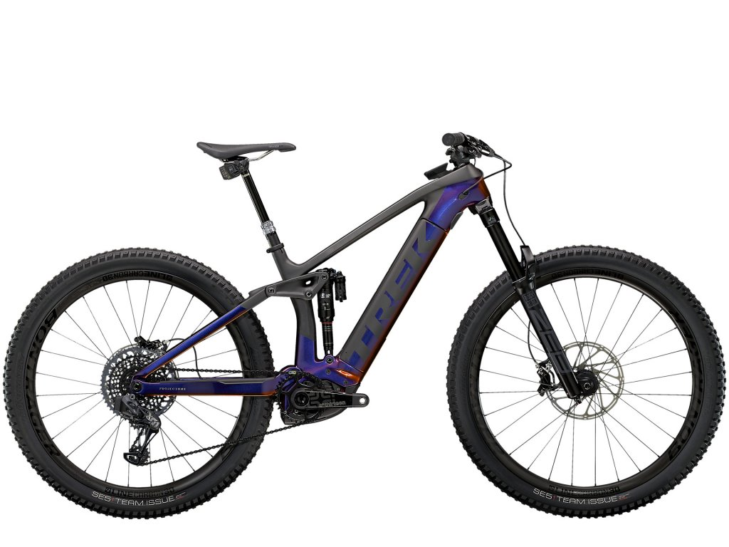 2021 TREK RAIL 9.9 X01 AXS GLOSS PURPLE PHAZE/MATTE RAW CARBON