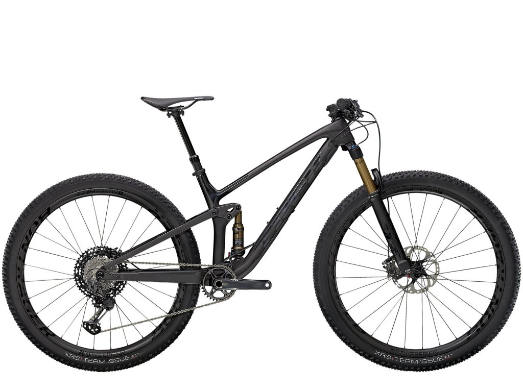 2021 TREK TOP FUEL 9.9 XTR MATTE RAW CARBON/VOODOO TREK BLACK