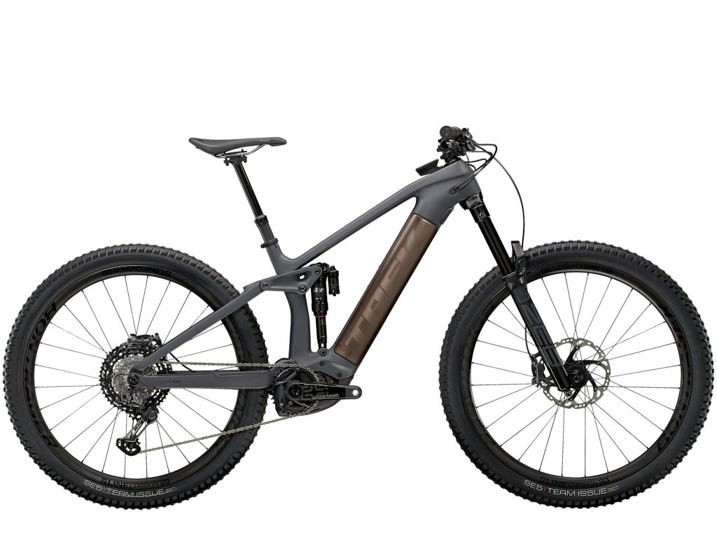 2021 TREK RAIL 9.9 XTR SOLID CHARCOAL TO ROOT BEER ANO DECAL