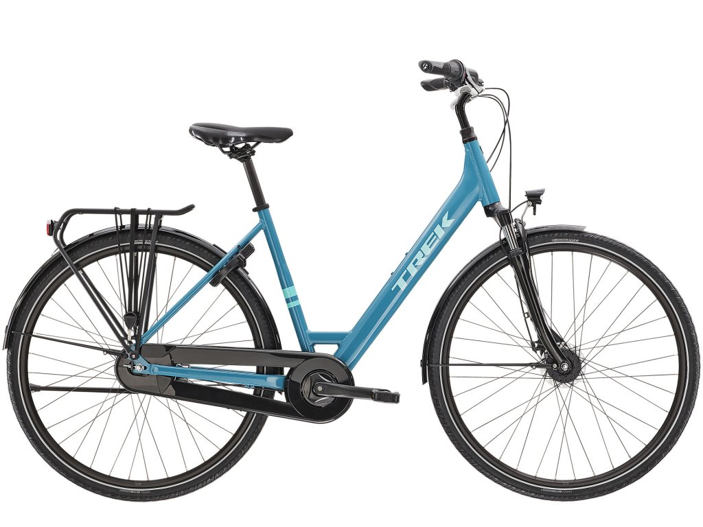 2021 TREK DISTRICT 1 EQUIPPED LOWSTEP TEAL