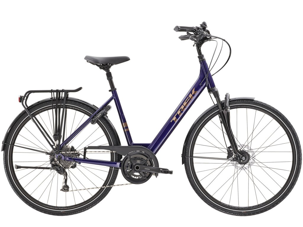 2021 TREK VERVE 3 EQUIPPED LOWSTEP PURPLE ABYSS