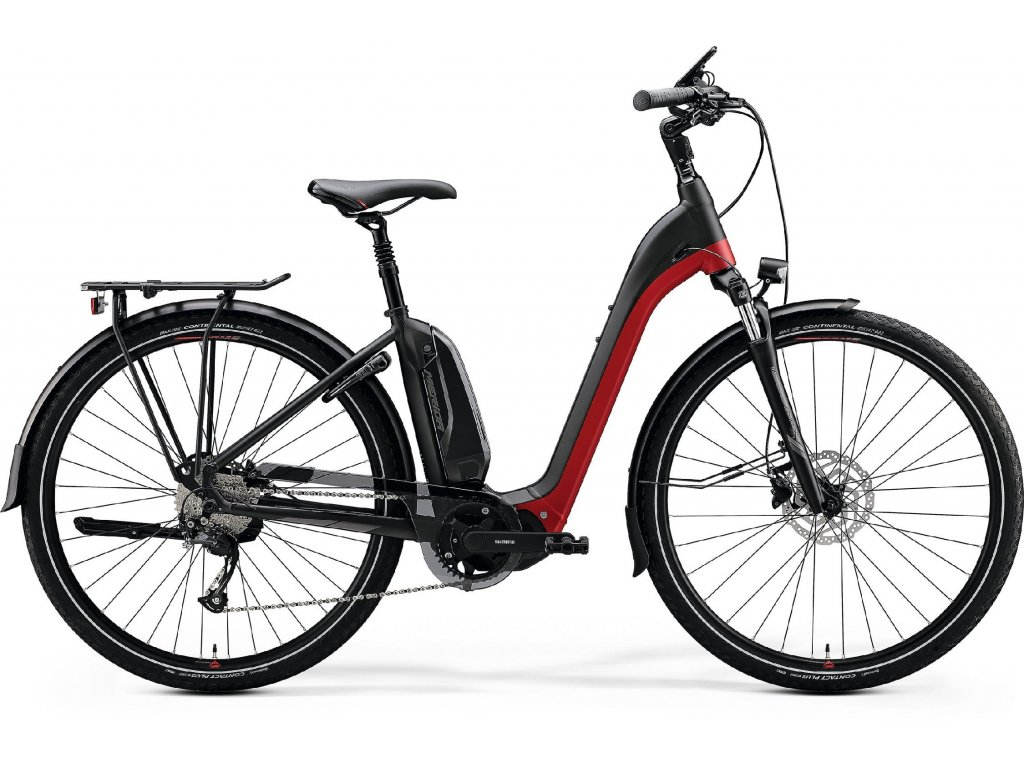 2020 MERIDA eSPRESSO CITY 300 EQ MATT BLACK/X'MAS RED