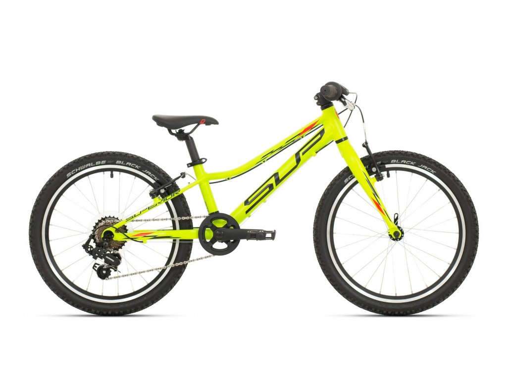 2021 SUPERIOR RACER XC 20 MATTE LIME/RED