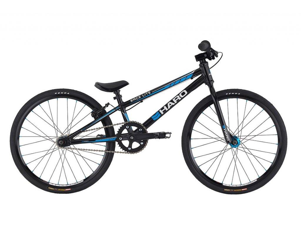 2021 HARO BMX RACE LITE MINI BLACK/BLUE - ZÁVODNÍ BMX