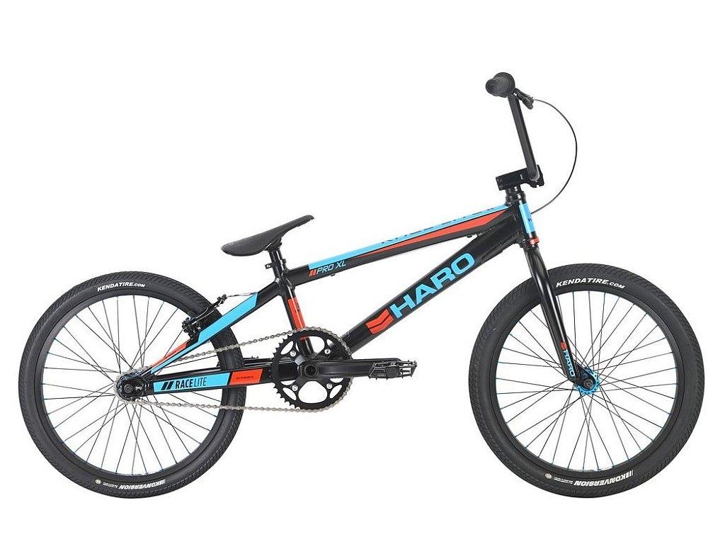 2021 HARO BMX RACE LITE PRO XL BLACK - ZÁVODNÍ BMX