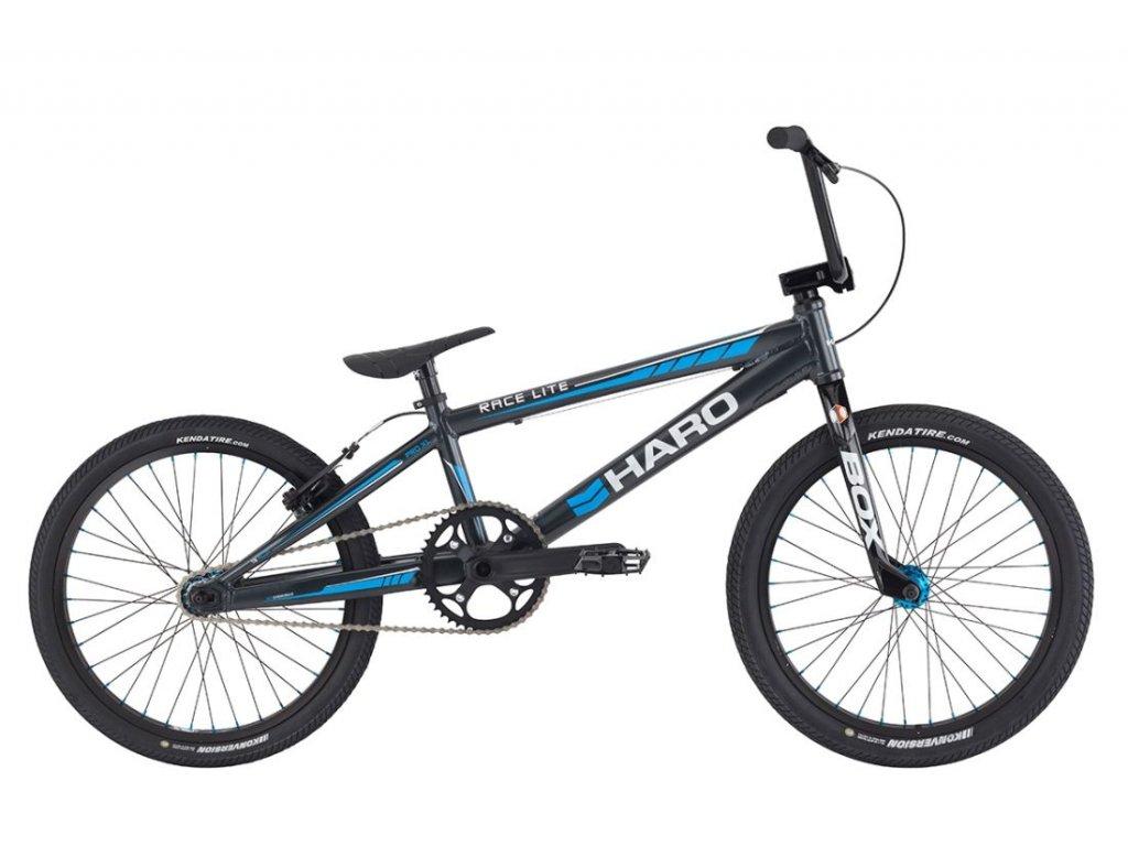 2021 HARO BMX RACE LITE TEAM CF PRO XL BLACK/BLUE - ZÁVODNÍ BMX