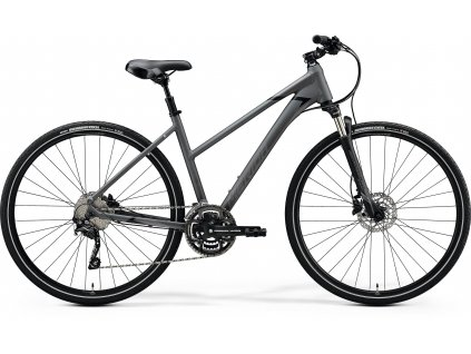 2020 MERIDA CROSSWAY 300-LADY MATT DARK GREY(BLACK)