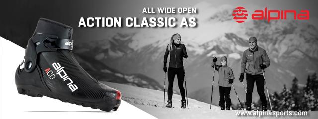 Boty na běžky Alpina 2022 skladem