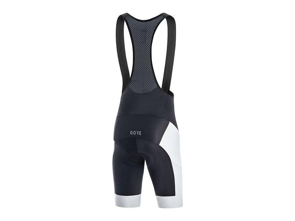 GORE C3 Line Brand Bib Shorts+-black/white-XXL