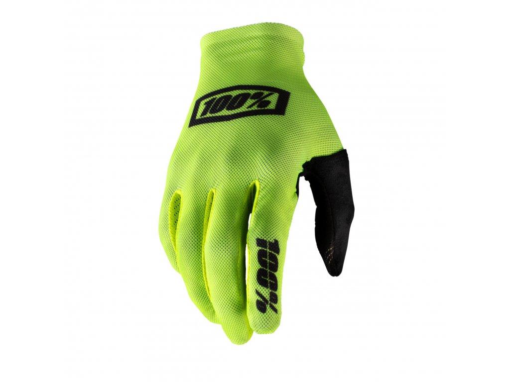 celium gloves fluo yellow black