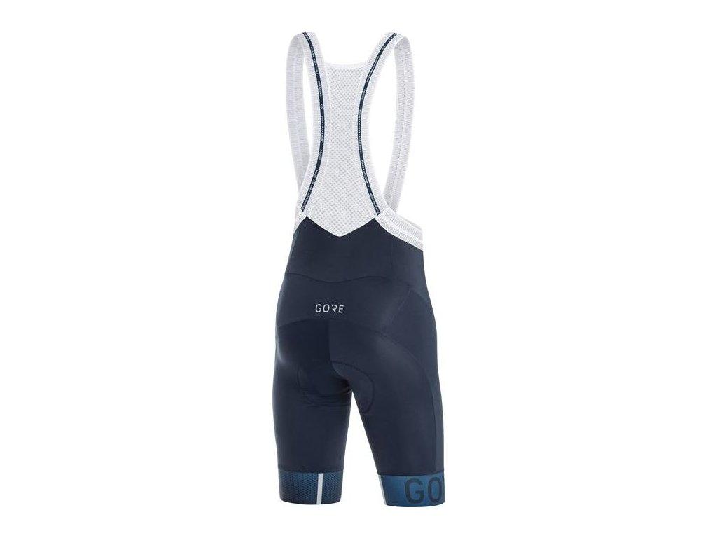 GORE C5 Cancellara Bib Shorts+-orbit blue/deep water blue-S