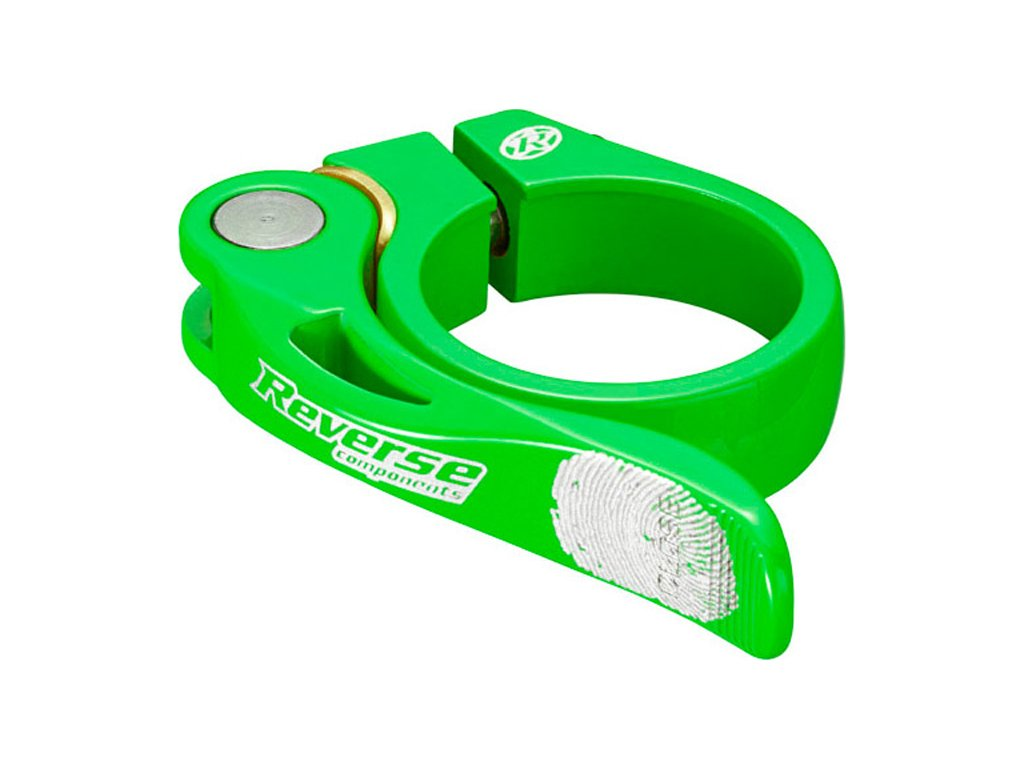 Objímka sedlovky Reverse Long Life 34,9 mm Neon Green