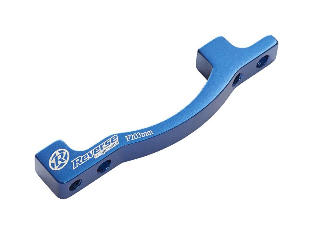 Adaptér přední brzdy Reverse PM-PM 203 mm Blue