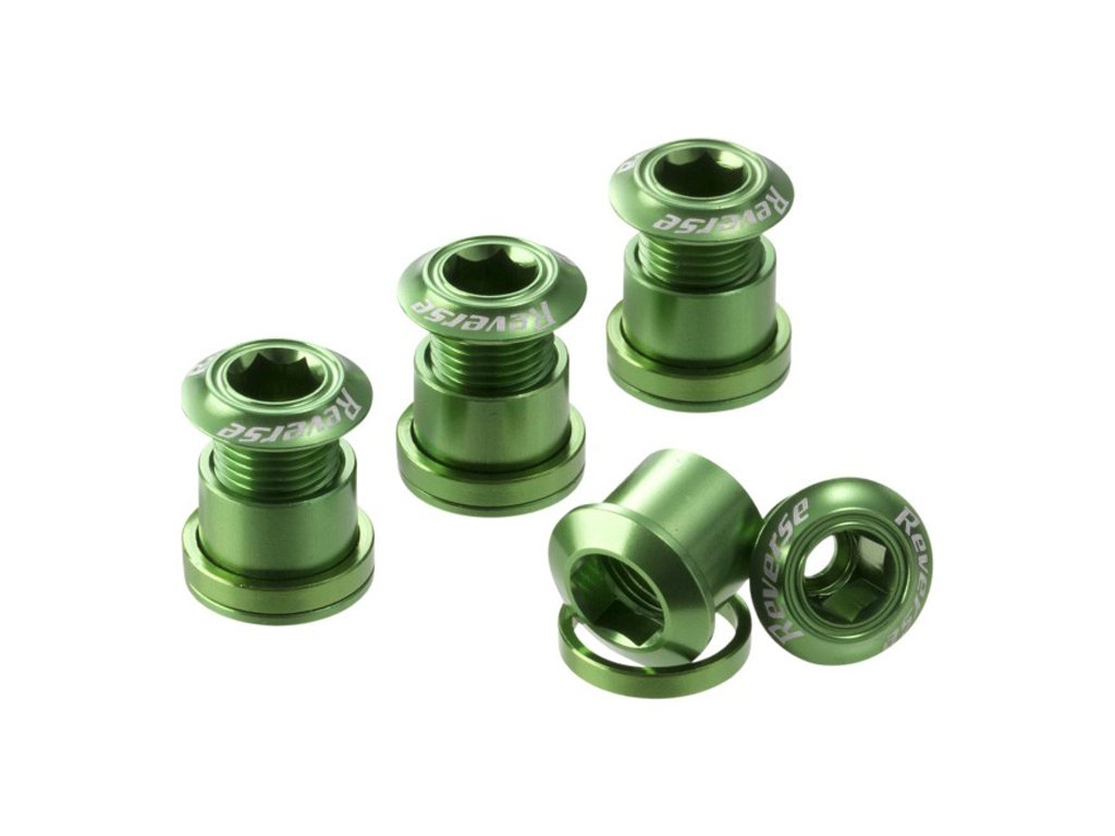 Šrouby do převodníku Reverse Alloy 7 mm, 4ks Green