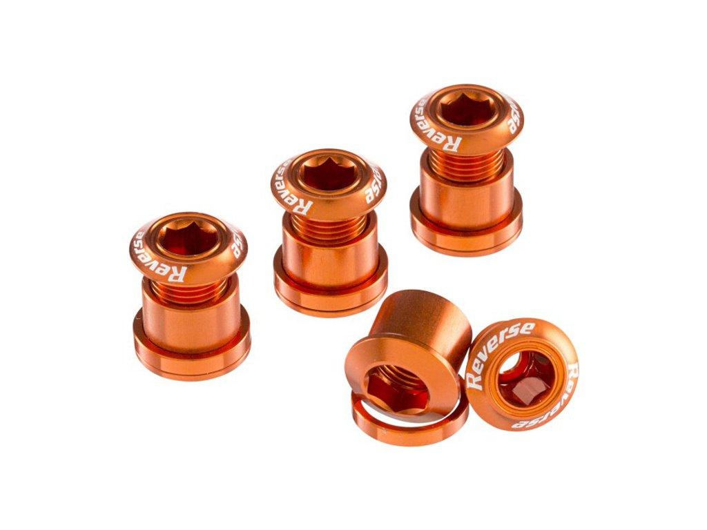 Šrouby do převodníku Reverse Alloy 7 mm, 4ks Orange