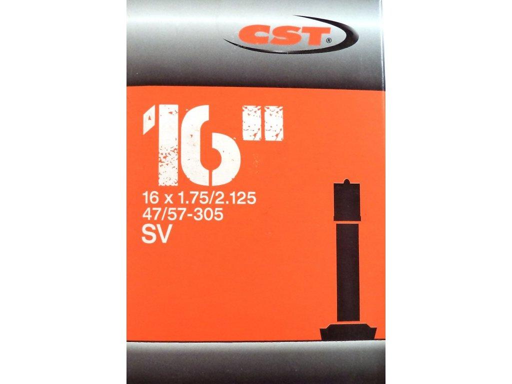 """DUŠE CST 16""""X1.75-2.125 (47/57-305) AV/33MM"""