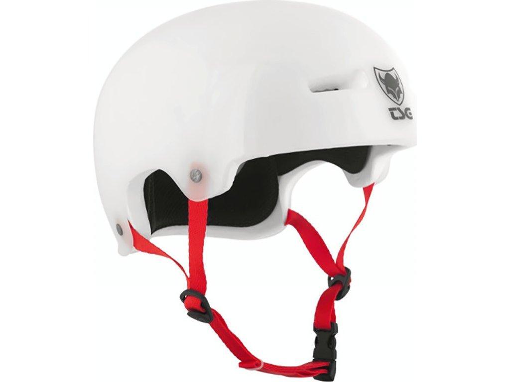 Přilba TSG Evolution Special Make Up Clear White, S / M