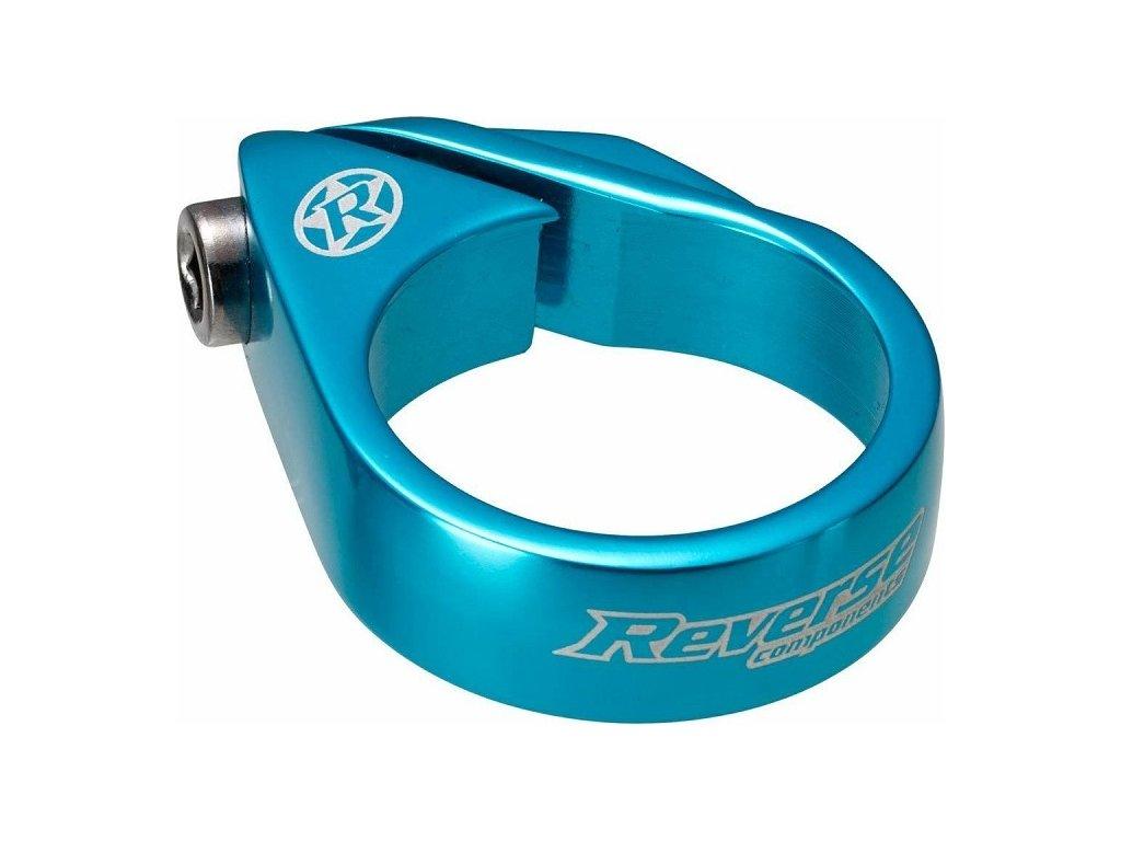 Objímka sedlovky Reverse Bolt 34,9 mm Light Blue