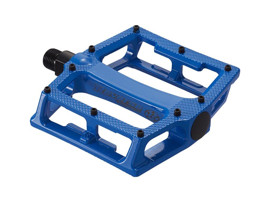 Pedály Reverse Super Shape 3-D Blue