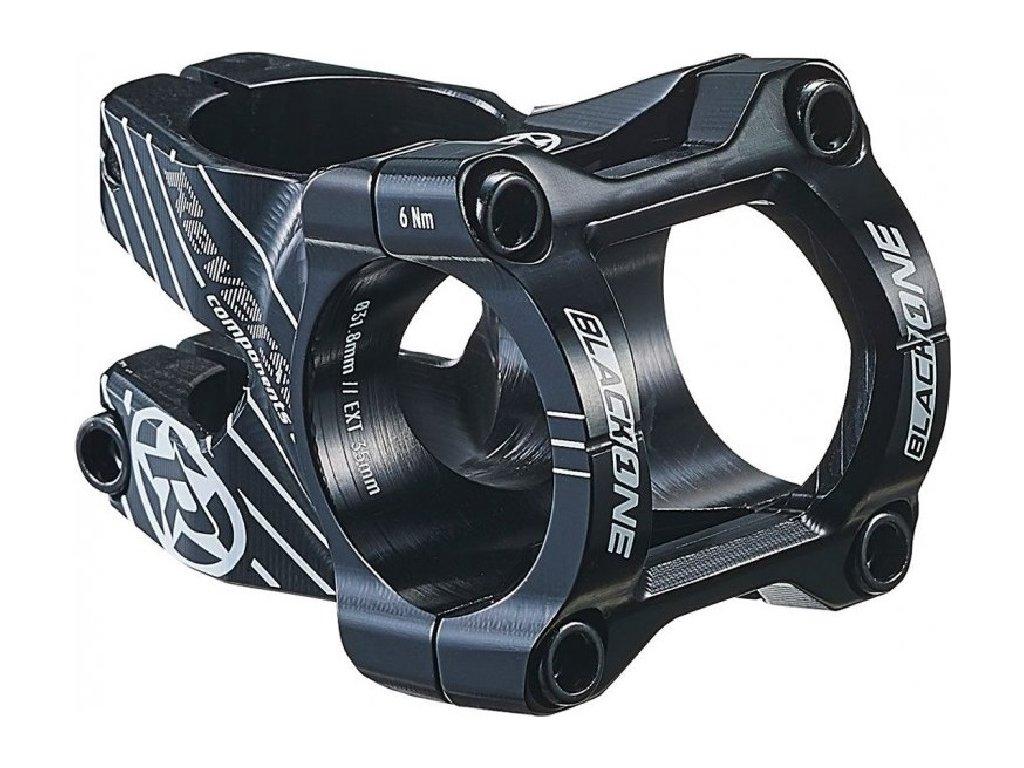 Představec Reverse Black One Enduro 50 mm / 31,8 mm Black / White