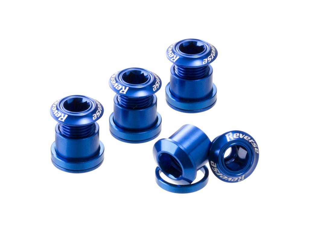Šrouby do převodníku Reverse Alloy 7 mm, 4 ks Dark Blue