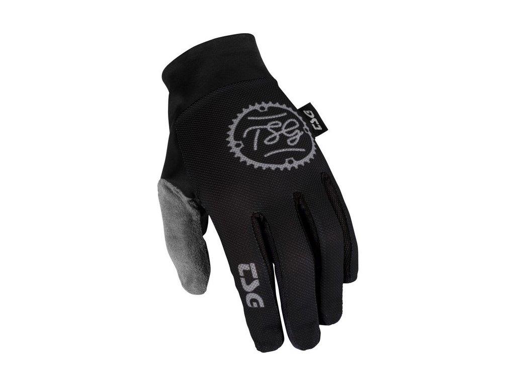 """Rukavice TSG """"Catchy"""" Gloves - Chain Black, L"""