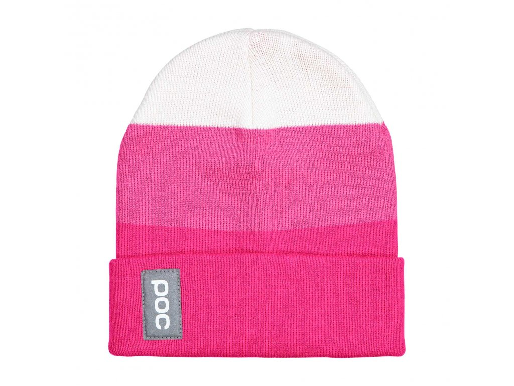 poc stripe beanie rhodonite multi pink one