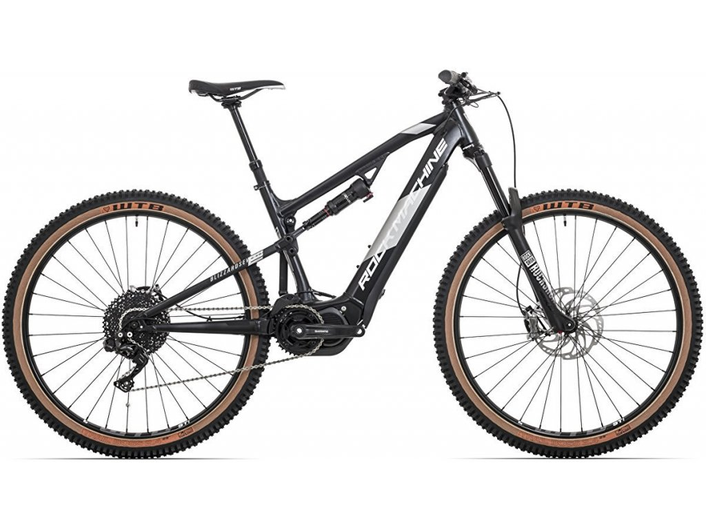 Elektrokolo Rock Machine Blizzard INT2 e70-29 Di2 mat black/silver/black (L)