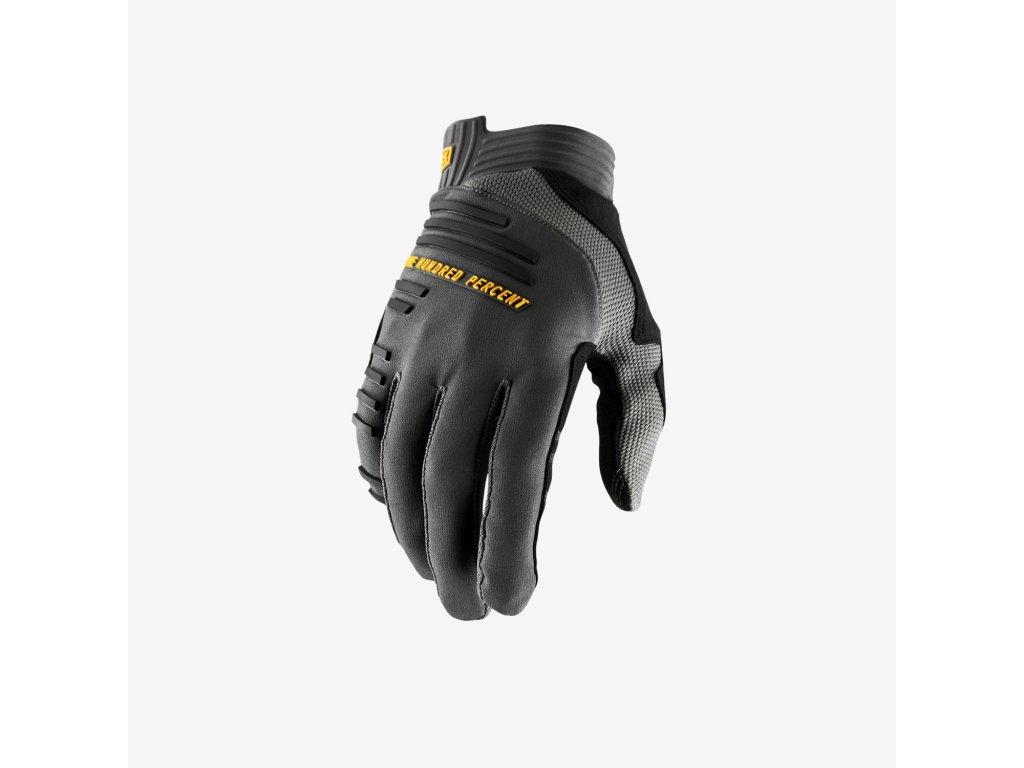 r core glove charcoal