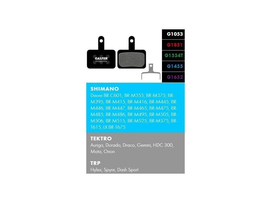 Galfer FD293 - Shimano, Tektro, TRP
