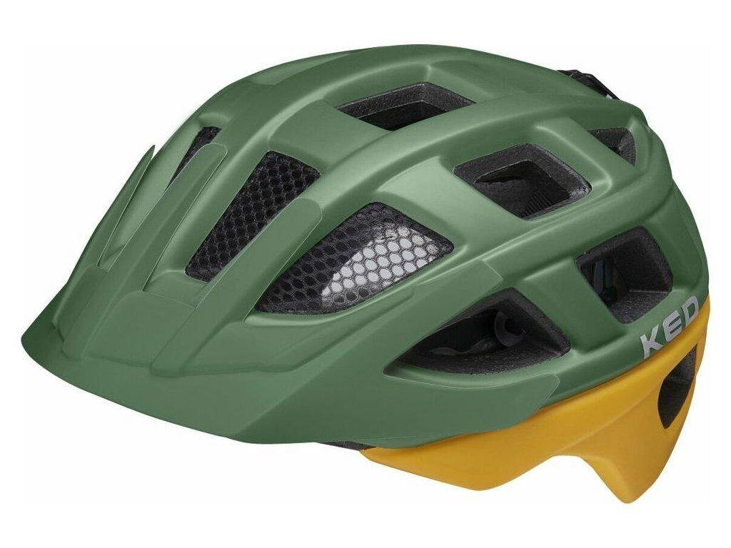 přilba KED Kailu M green yellow matt 53-59 cm