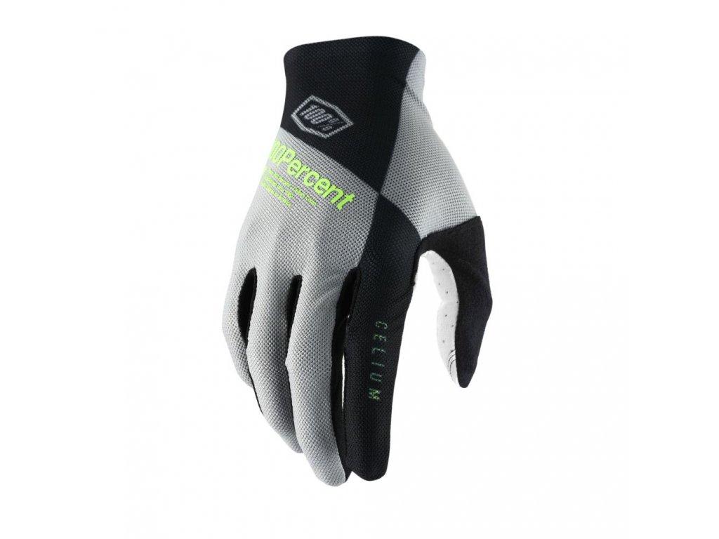celium glove black grey sm