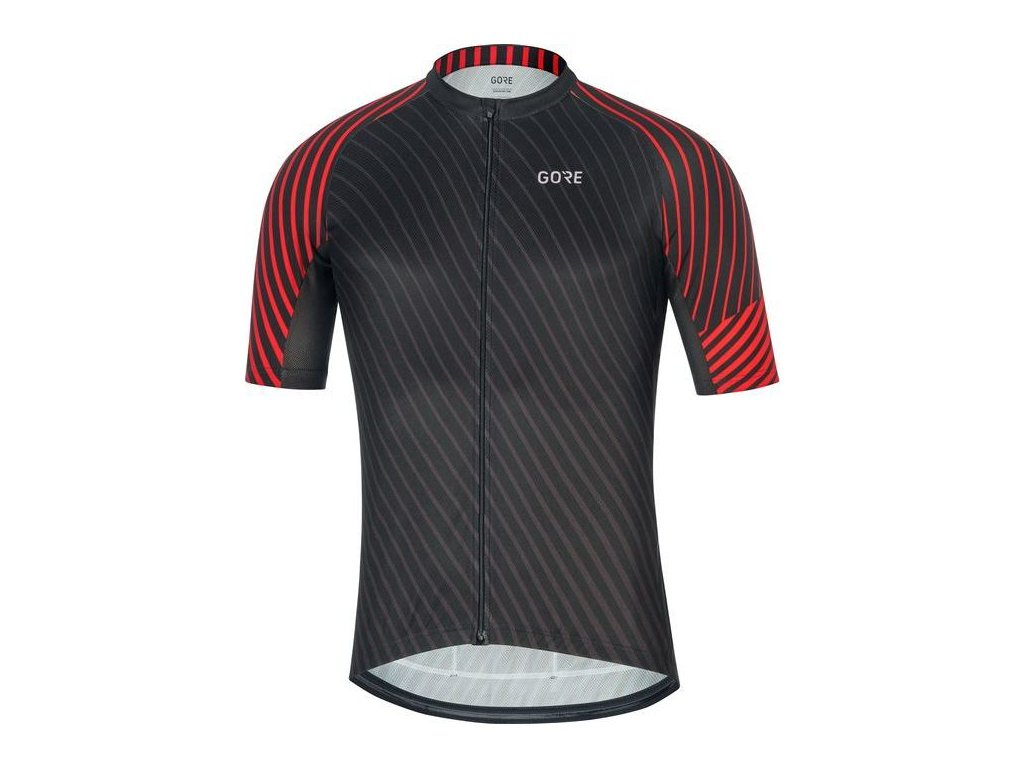 GORE C3 Jersey D-black/red-M