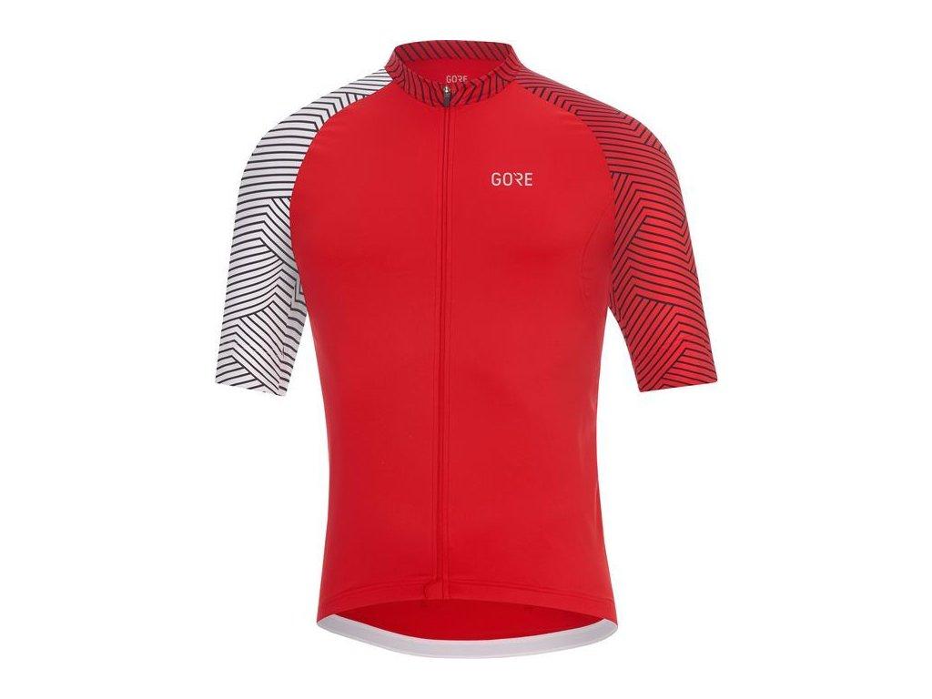 GORE C5 Optiline Jersey-red/white-XXL