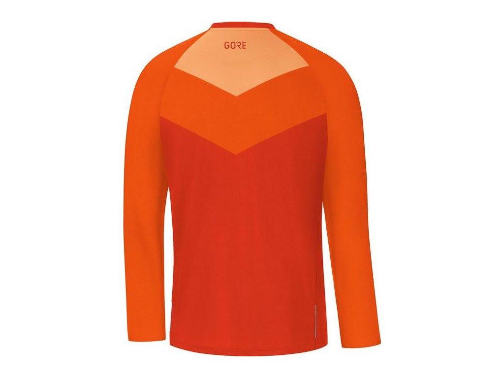 GORE C5 Trail Long Sleeve Jersey-orange.com-L