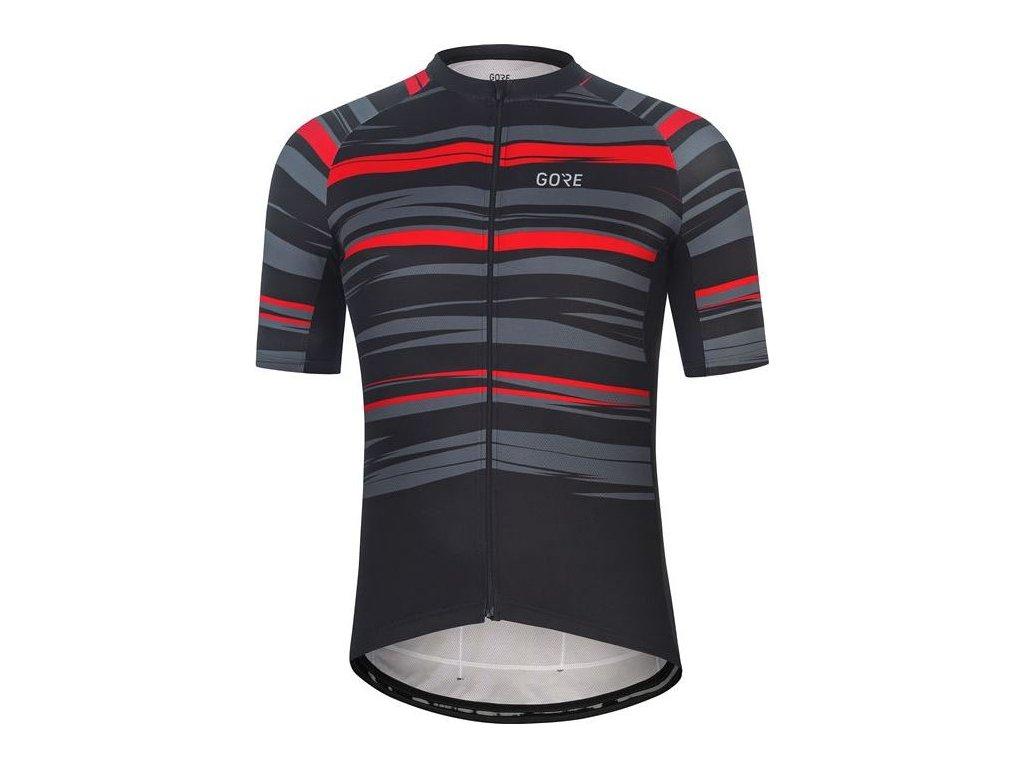 GORE Wear Savana Jersey Mens-black/greystone-L