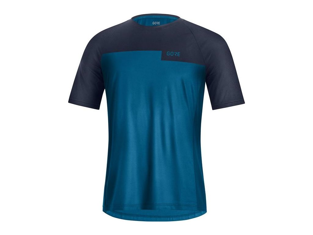 GORE Wear Trail Shirt Mens-sphere blue/orbit blue-M