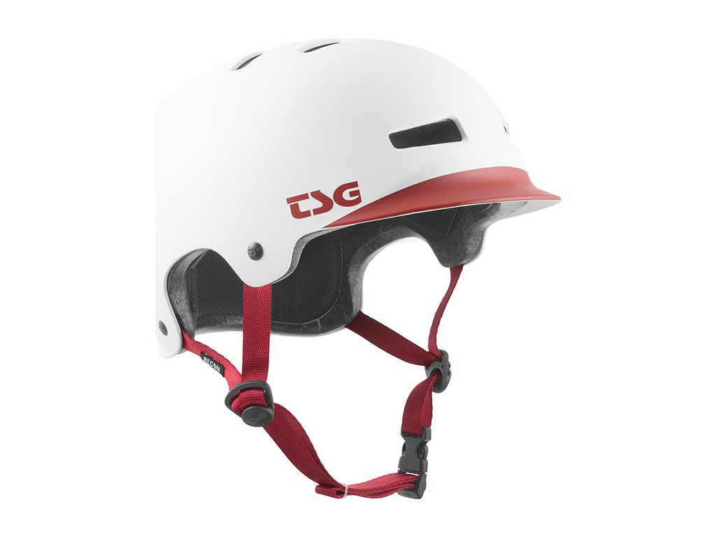 Přilba TSG Recon Graphic Design - bílá, L/XL