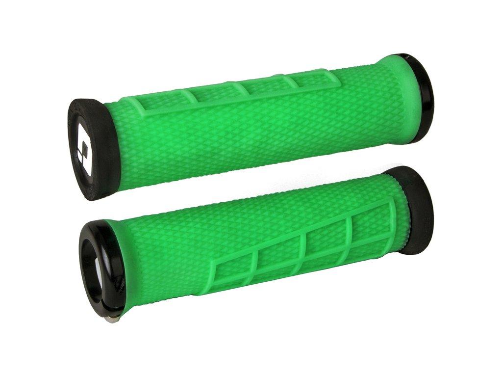 Gripy MTB ODI Elite Flow Lock-On Green