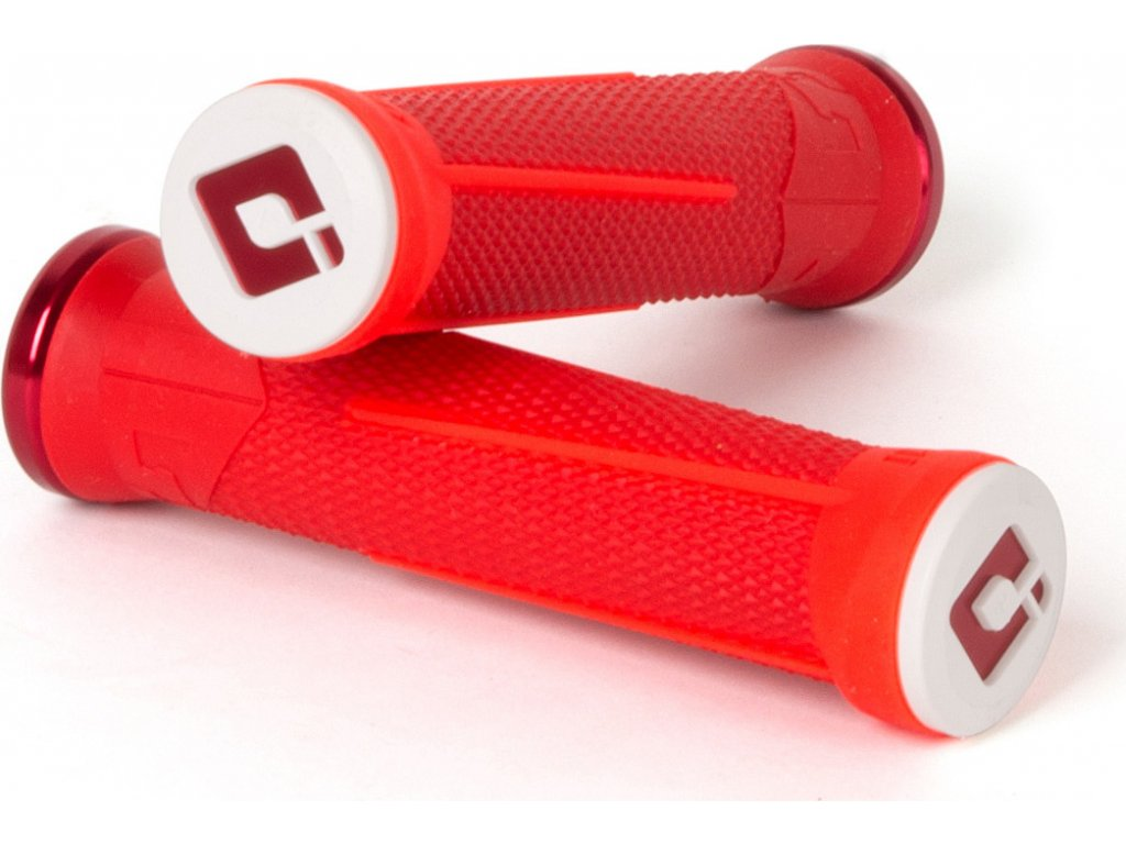 Gripy MTB ODI AG-1 Signature V2.1 Lock-On  Red / Fire Red