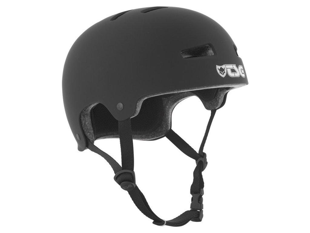 Přilba TSG Evolution Solid Color černá matná - asian fit, S / M