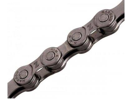 Řetěz  6/7/8 sp. KMC Z8 GREY, (montážní balení), 118 čl.
