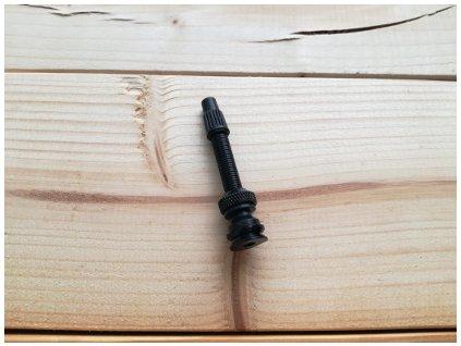 bezdusovy ventilek 40 mm javax cerny s t otvorem 1 kus i3986