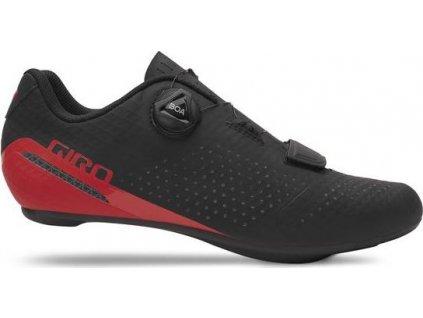 GIRO Cadet Black/Bright Red 46