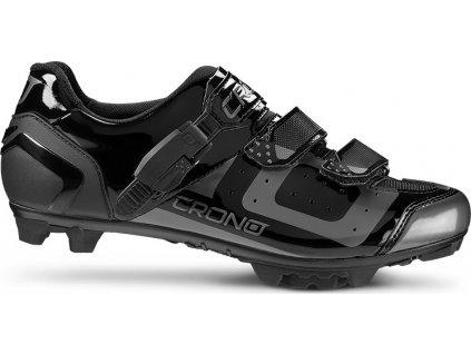 Tretry Crono MTB CX3 Black, 37