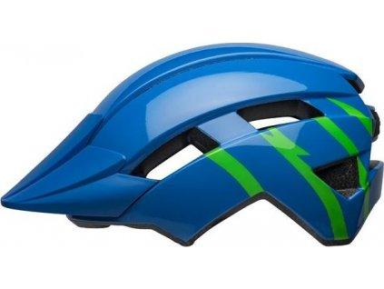BELL Sidetrack II Child Blue/Green