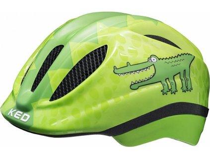 přilba KED Meggy Trend XS green croco 44-49 cm