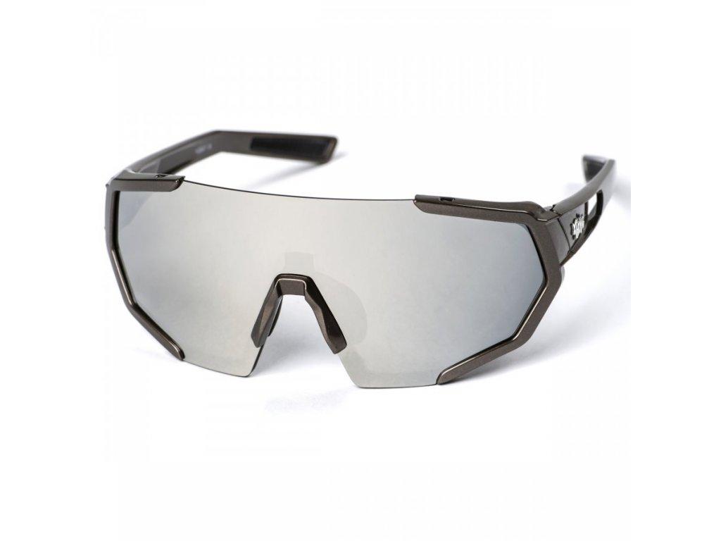 pitcha space r sunglasses titan silver