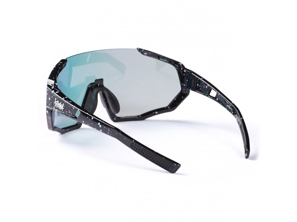 78318 pitcha space r sunglasses black spot red
